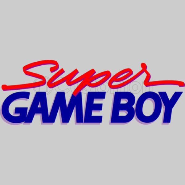 Super GameBoy Logo Kids Tank Top.
