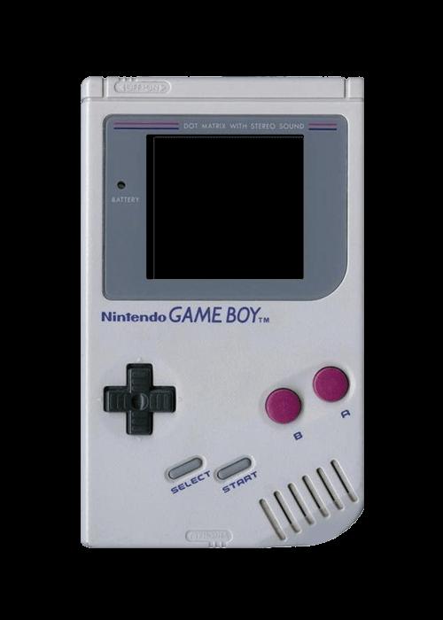 Vintage Gameboy transparent PNG.