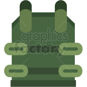 game bullet proof vest clipart icon . Royalty.