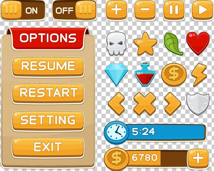 User Interface Design Game Button PNG, Clipart, Animals, Area, Clip.