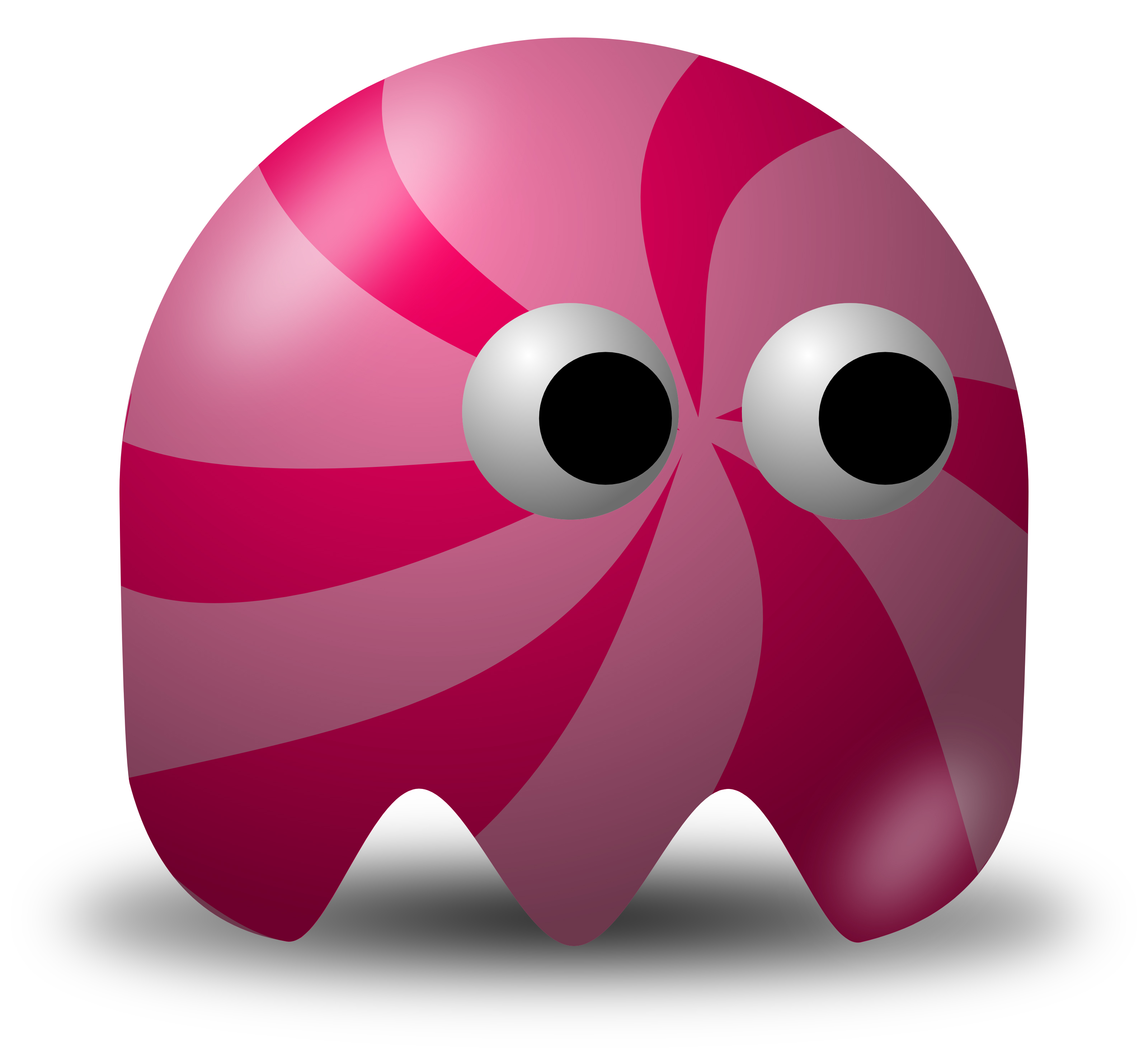 Candy Swirl Avatar Character.