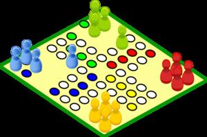 Clovece Nezlob Se Board Game Clip Art at Clker.com.