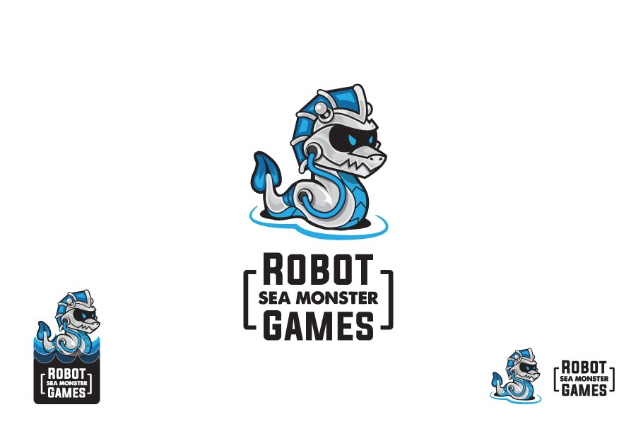 Create a logo for a video game company.