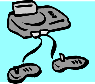 Video game console png clipart.