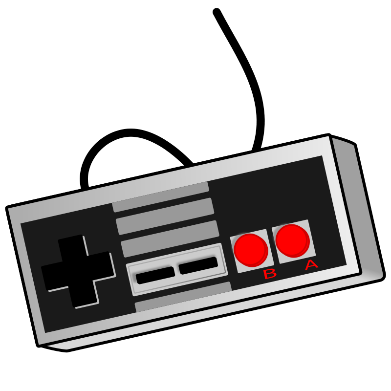 Free Clipart: Old School Game Controller.