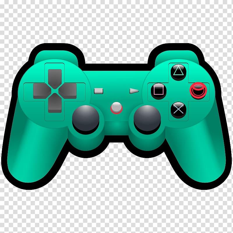 Game controller Video game Joystick Xbox 360 controller , Controller.
