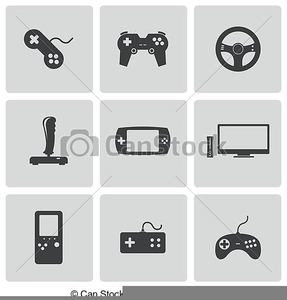 Video Game Design Clipart.