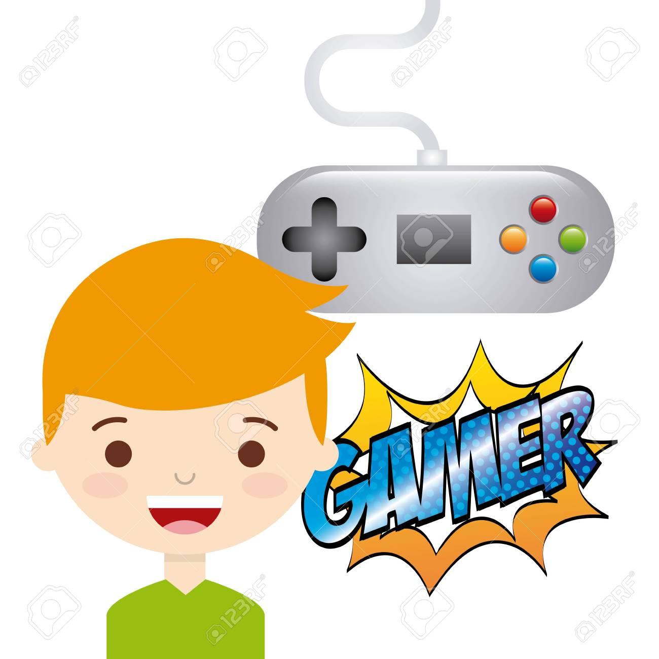 video game design, vector illustration eps10 graphic.