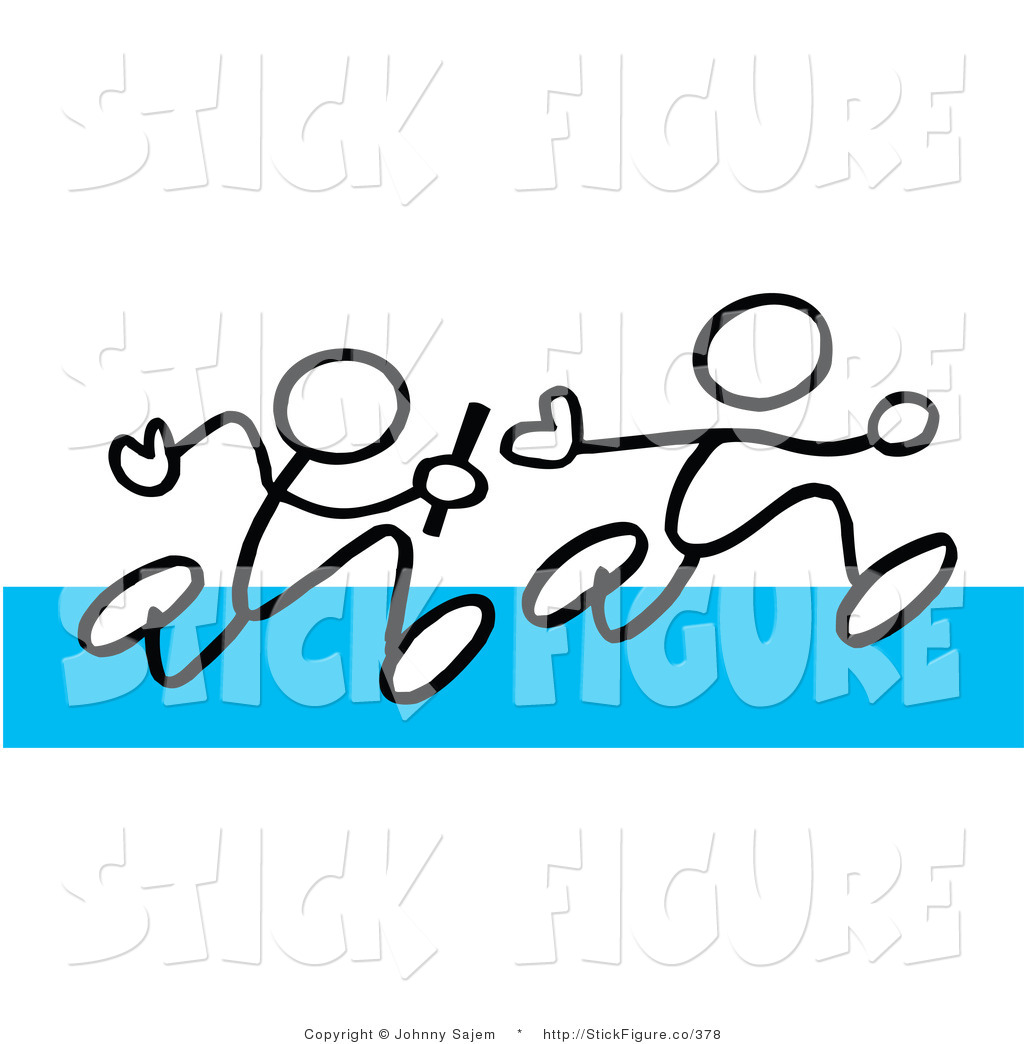 Royalty Free Game Stock Stick Figure Designs.