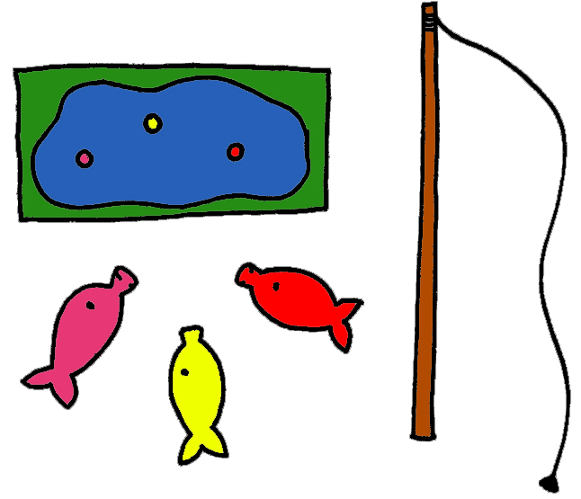 Fish Pond Game Spread Out Fish Around The #uLY1c6.