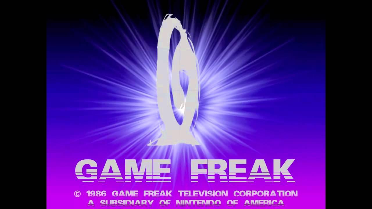 Game Freak Logo History REMAKE.