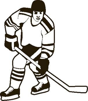 Game winning goal clipart hockey.