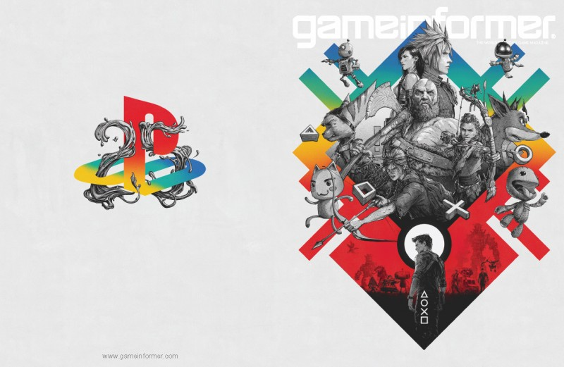 Game Informer PlayStation 25th Anniversary Art Print up for.