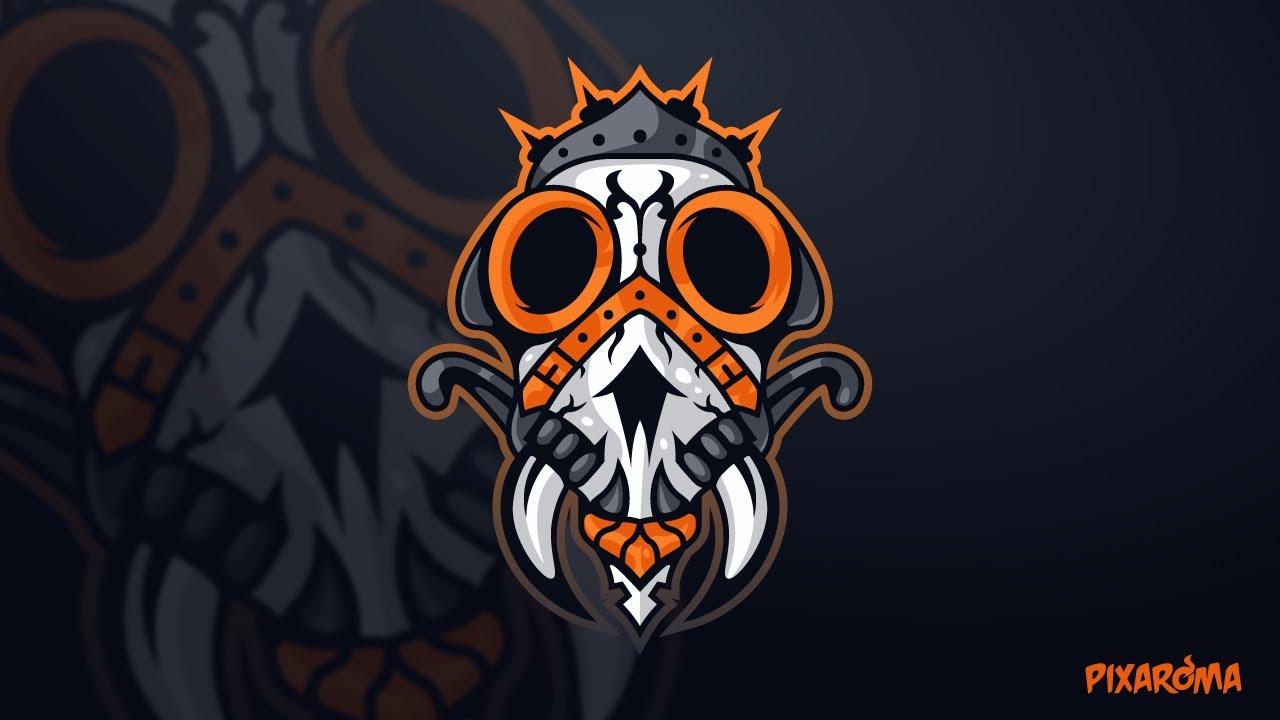 Game Logo Design Process.
