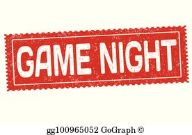 Game Night Clip Art.