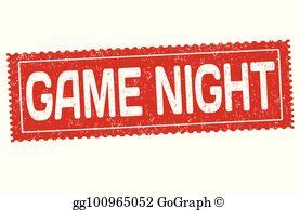 Game Night Clip Art.