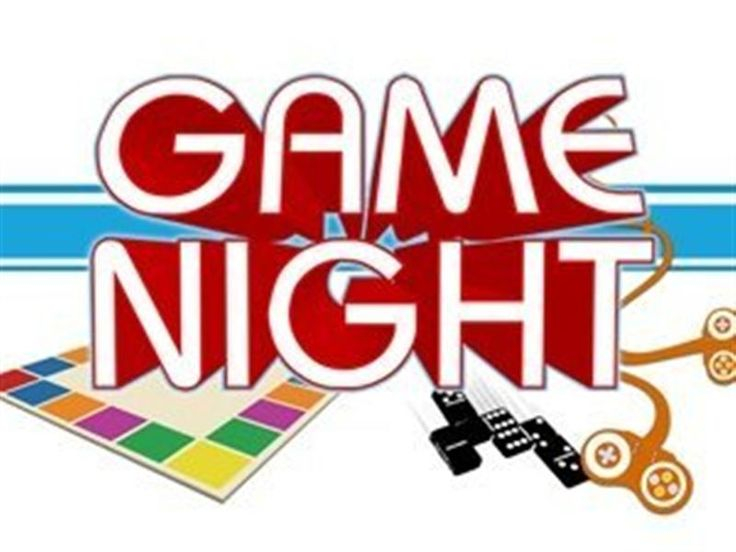 Winter Game Night Clipart.
