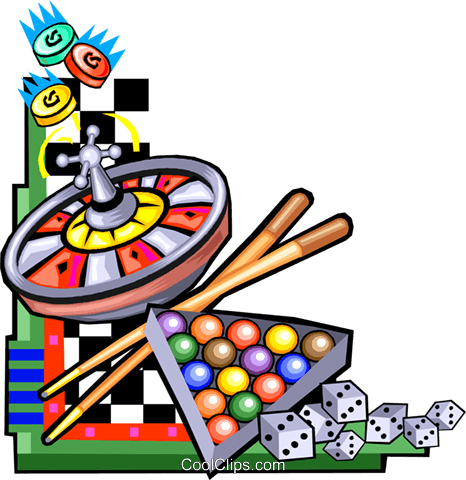 Game of chance clipart.