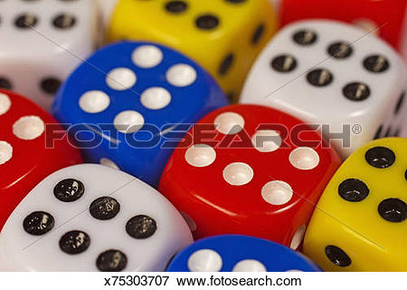 Picture of Dice a game of chance x75303707.