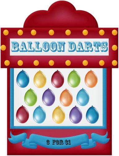 Balloon dart clipart.