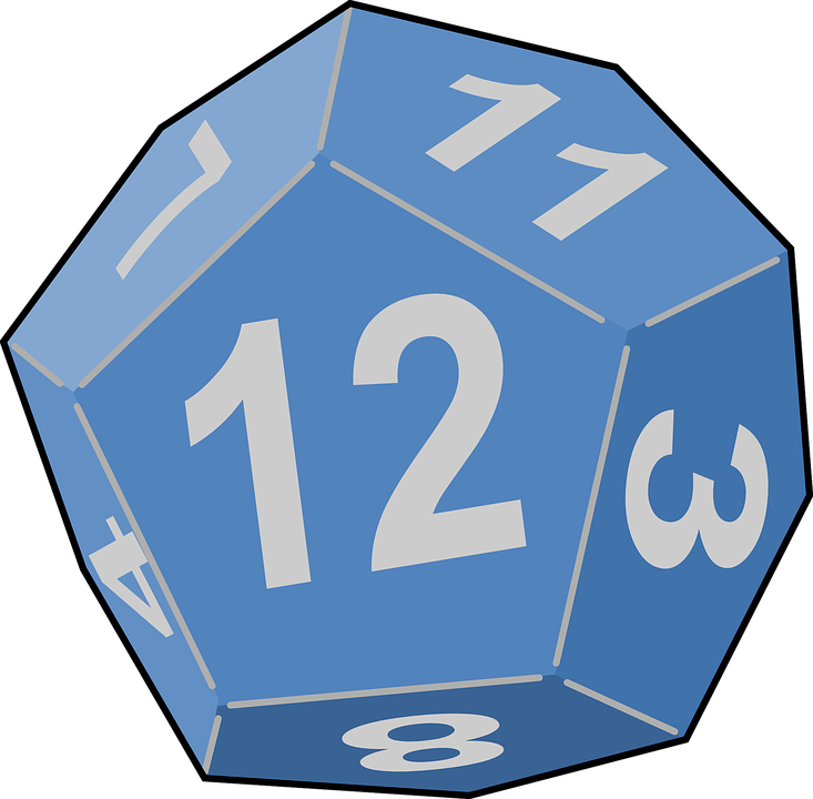 Free vector graphic: Dice, Game, Die, Luck, Random.