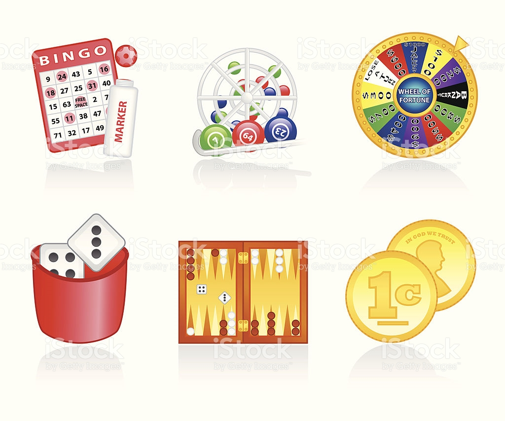 Luck Games Icon Set stock vector art 165655713.