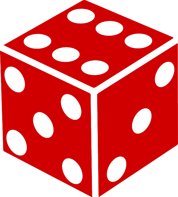 Free vector graphic: Die, Dice, Red, Luck, Chance, Game.