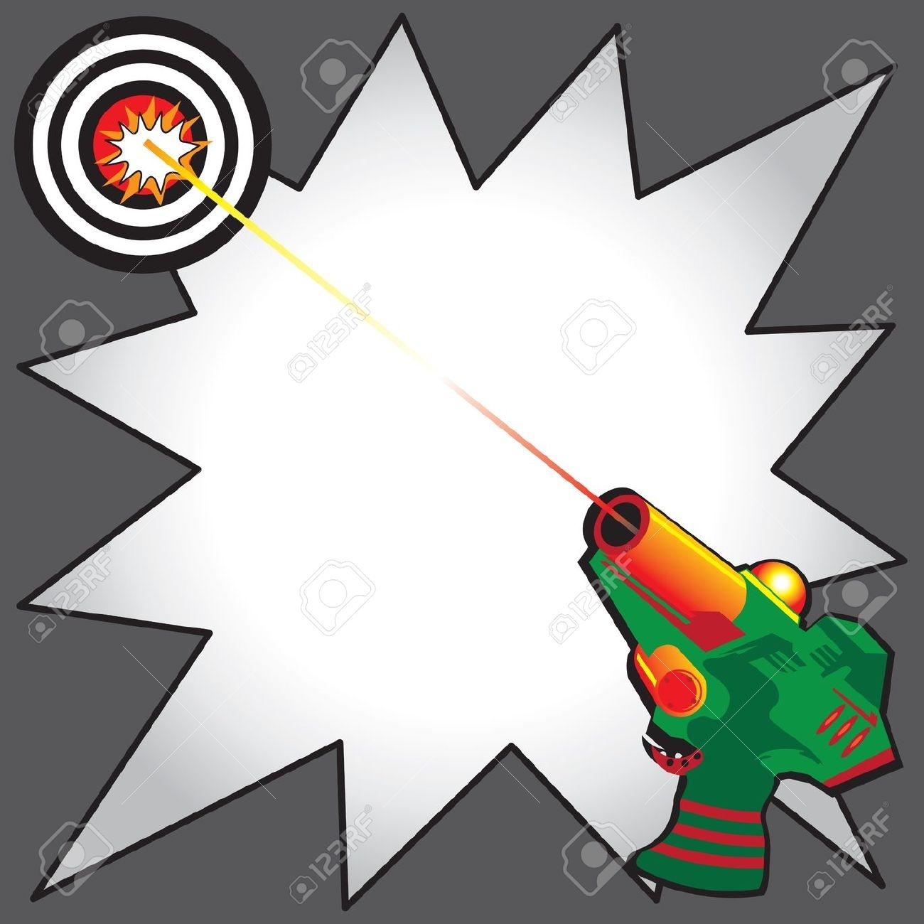 Laser Tag Clip Art.