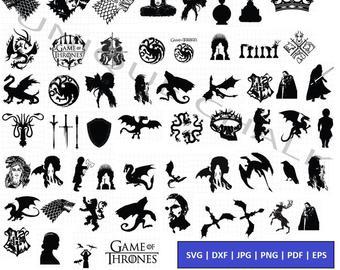Game thrones vector.