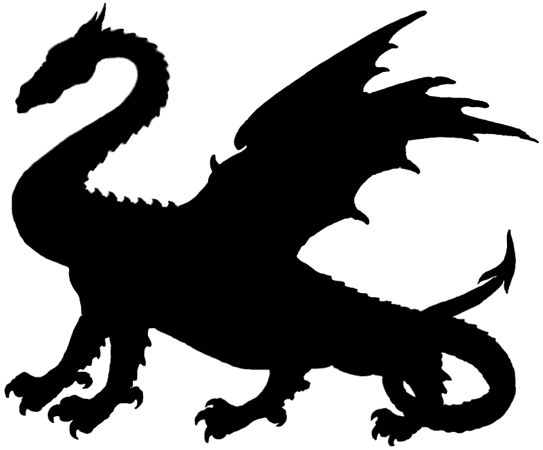 Game Of Thrones Free Dragon Silhouette Clip Art On Png.
