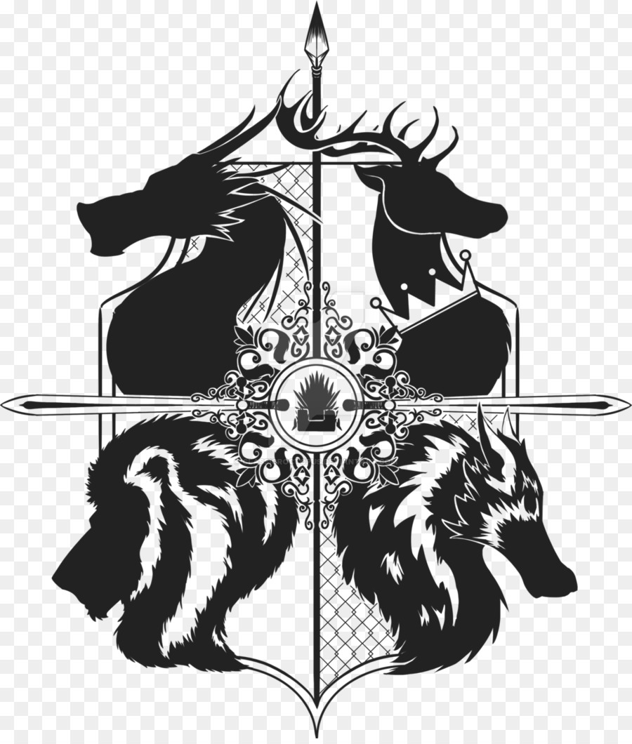 Free Game Of Thrones Silhouette, Download Free Clip Art.