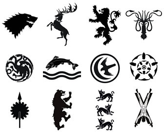235 Game Of Thrones free clipart.