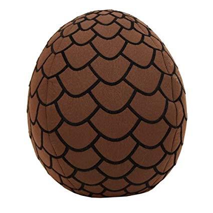 Factory Entertainment Game of Thrones Dragon Egg Brown Plush.