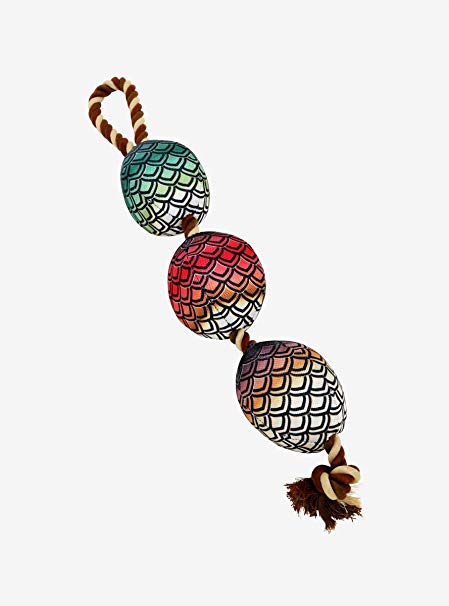 Amazon.com: Game of Thrones Dragon Egg Rope Chew Toy: Clothing.