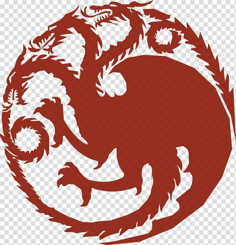 Dragon illustration, Daenerys Targaryen Tyrion Lannister.