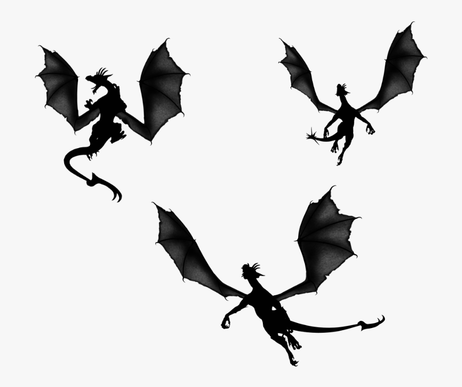 Transparent Demons Clipart.