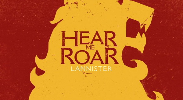 Game Of Thrones Hear The Roar Clipart.