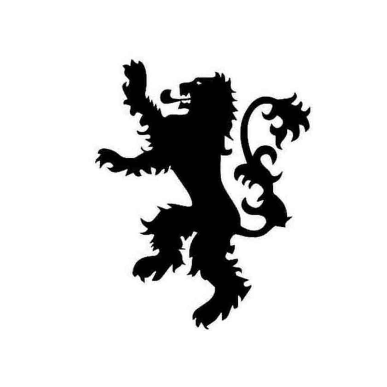 Game Of Thrones House Of Lannister Decal Sticker BallzBeatz.