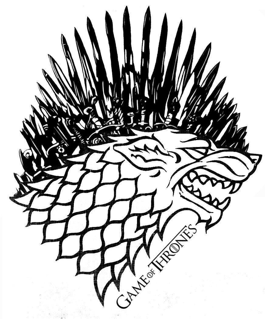 Game of Thrones: Stark Iron Throne by AllHailZ.deviantart.