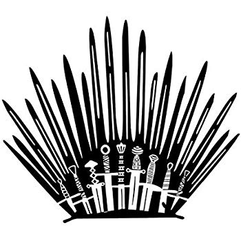 Amazon.com: HLHXMWXY Game of Thrones Wall Sticker Applique.