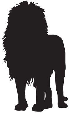 lion silhouette.
