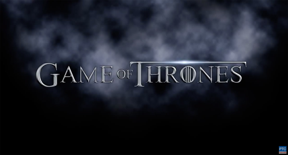 Best Game of Thrones Fonts & Text Effects So Far.
