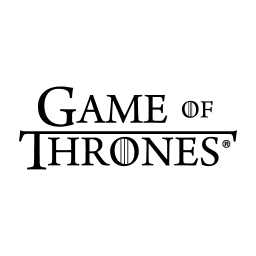 Game Of Thrones logo in (.EPS + .AI) vector free download.