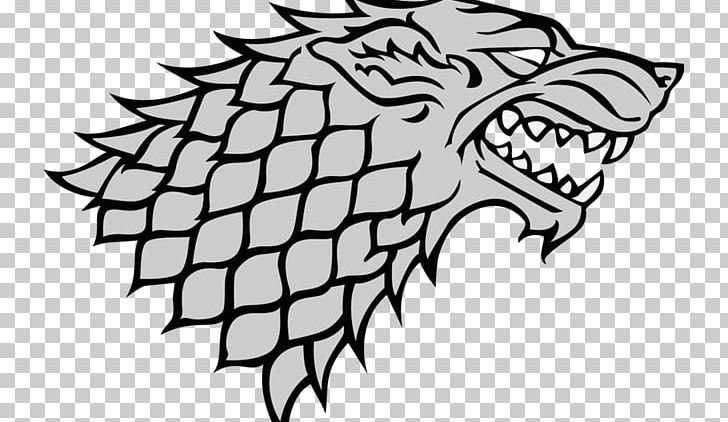 A Game Of Thrones House Stark Sigil House Targaryen Bran Stark PNG.