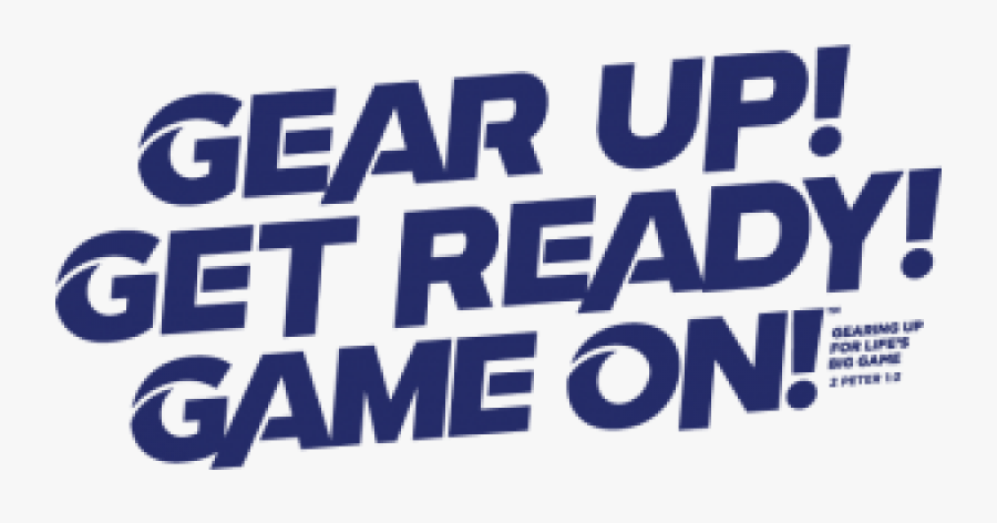 Gear Up Get Ready Game On Vbs , Free Transparent Clipart.