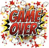 Clip Art of Game over.