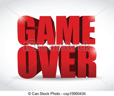 Game Over Clipart.