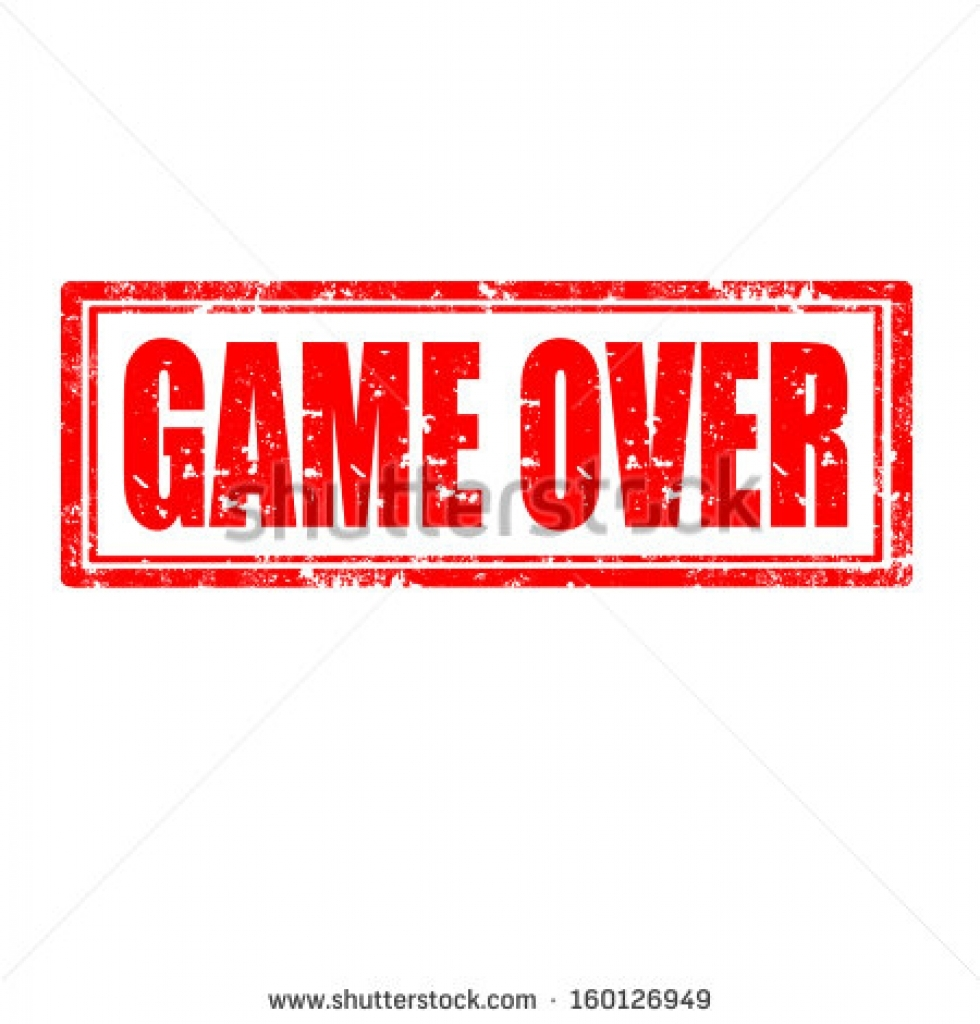 game over stock vectors amp vector clip art shutterstock game over.
