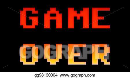 Arcade clipart game over, Arcade game over Transparent FREE.