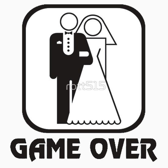 Funny Wedding Game Over.